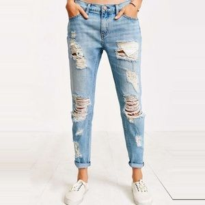 Urban Outfitters BDG Slim BF Low Rise Jeans